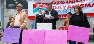 Artvin'de Su Zammı Protestosu