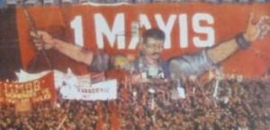 Lazona'da İlk 1 Mayıs