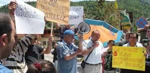 DSİ Protesto Edildi
