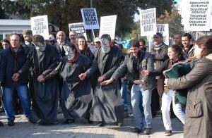 Tulumlu Horonlu HES Protestosu